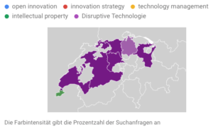 Innovationsmanagement-Trends: Abfragen Schweiz (L5Y)